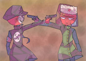 enemies by MariaCool1234