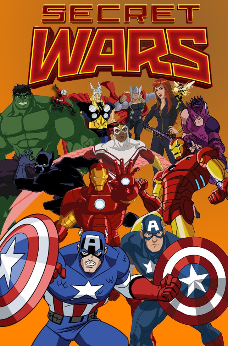 Avengers EMH VS. Avengers Assemble (Secret Wars) by Pitermaksimoff