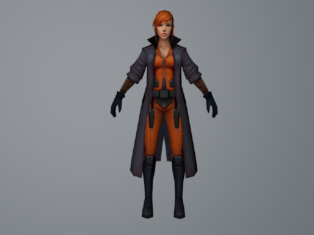 Elsa Bloodstone (MarvelFF) 3D Model by Pitermaksimoff