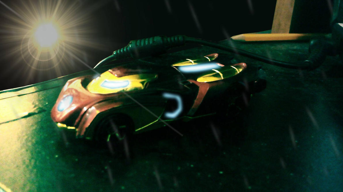 Hot Wheels Iron Man 2015 by Pitermaksimoff