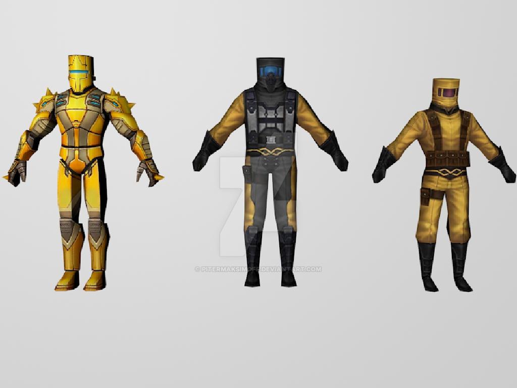 AIM Soldiers (MarvelFF) 3DModels by Pitermaksimoff