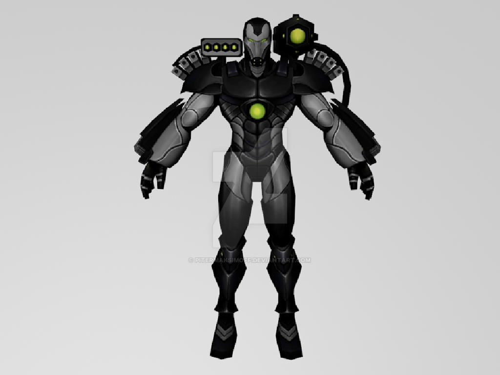 War Machine The Initiativa (MarvelFF 3DModel) by Pitermaksimoff