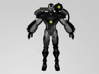 War Machine The Initiativa (MarvelFF 3DModel)