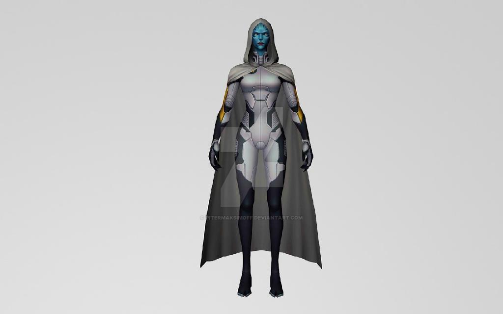 Supergiant 3DModel (MarvelFF) by Pitermaksimoff
