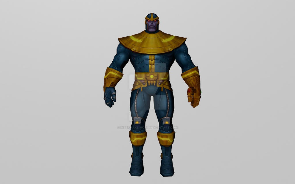 Thanos (3D Model MFF) by Pitermaksimoff