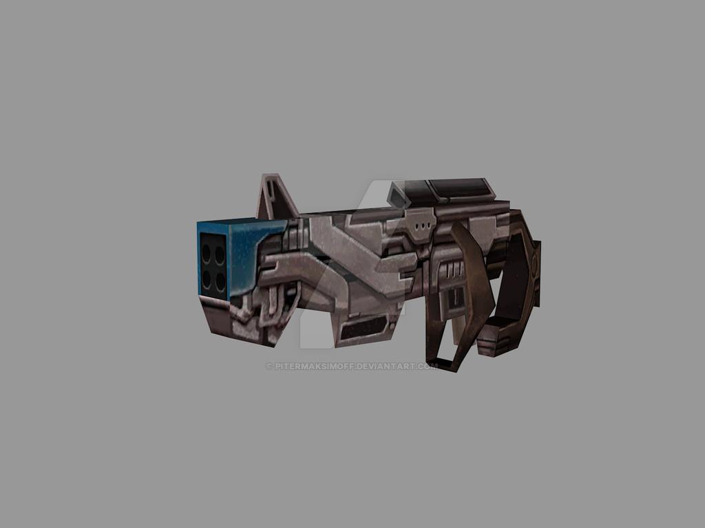 Rocket Raccon Weapon (3DModel MFF) by Pitermaksimoff