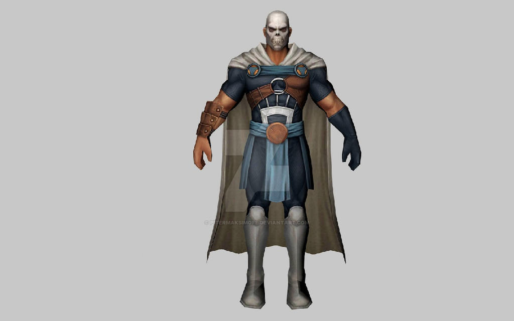 Taskmaster Secret Wars 3DModel (MFF) by Pitermaksimoff
