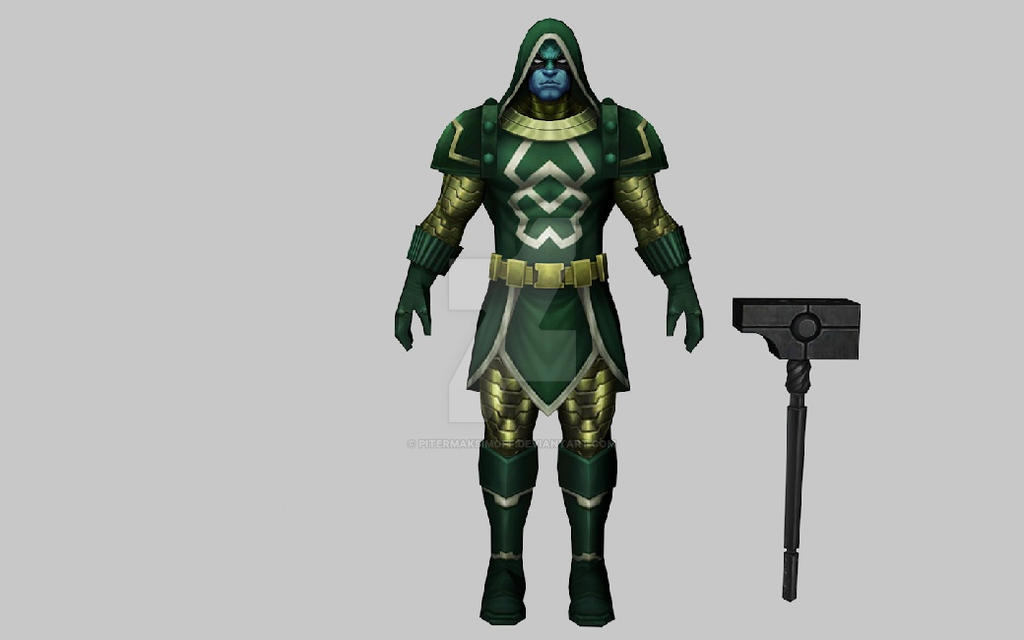 Ronan The Accuser 3DModel (MFF) by Pitermaksimoff