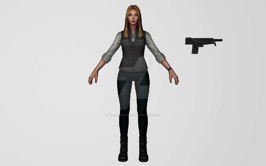 Sharon Carter Civil War (MFF) 3DModel by Pitermaksimoff