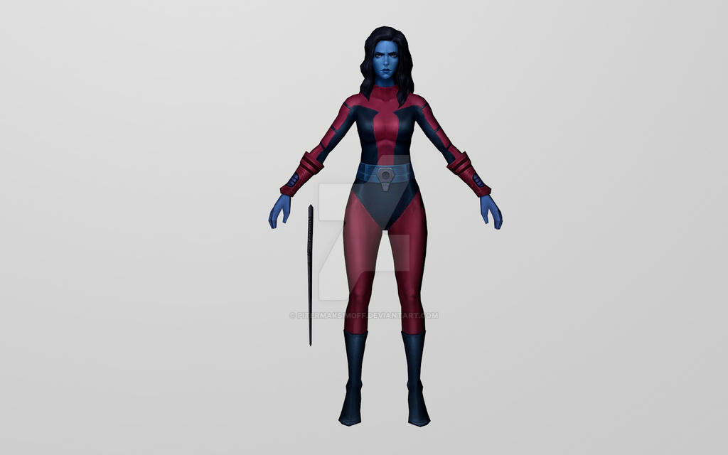 Nebula Classic (MarvelFF) 3D Model by Pitermaksimoff