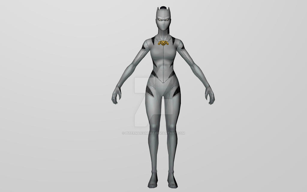 White Tiger (MarvelFF) 3D Model by Pitermaksimoff