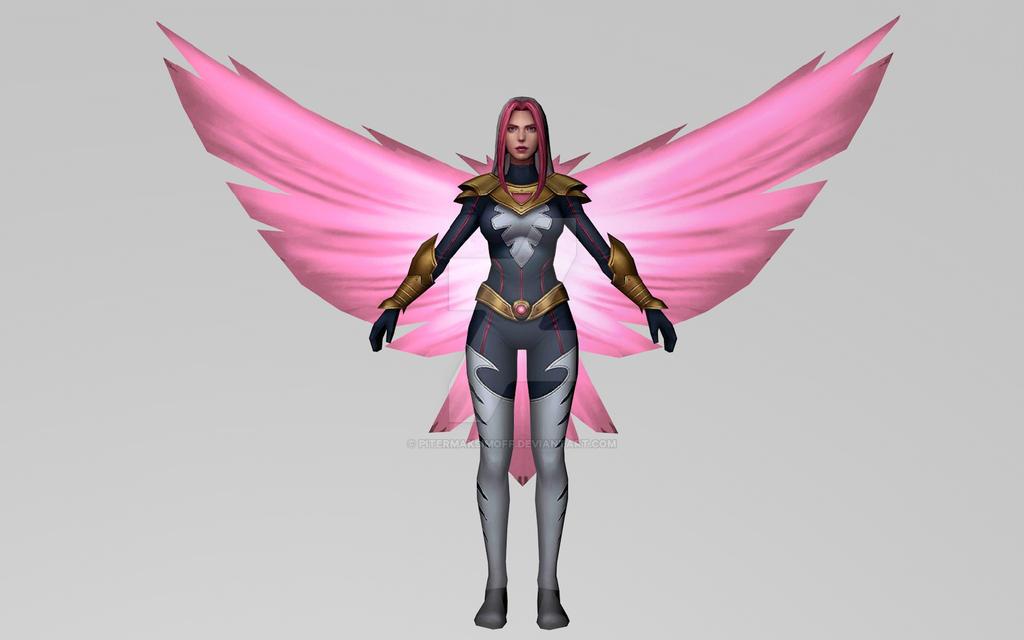 Songbird (MarvelFF 3D Model) by Pitermaksimoff