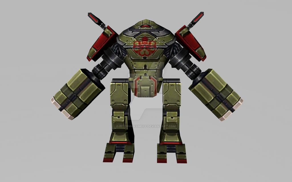 Hydra War Machine (MFF 3D Model) by Pitermaksimoff