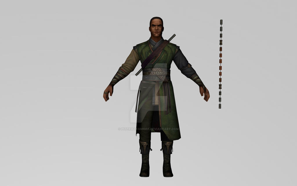 Baron Mordo (Movie / 3D Model MFF) by Pitermaksimoff