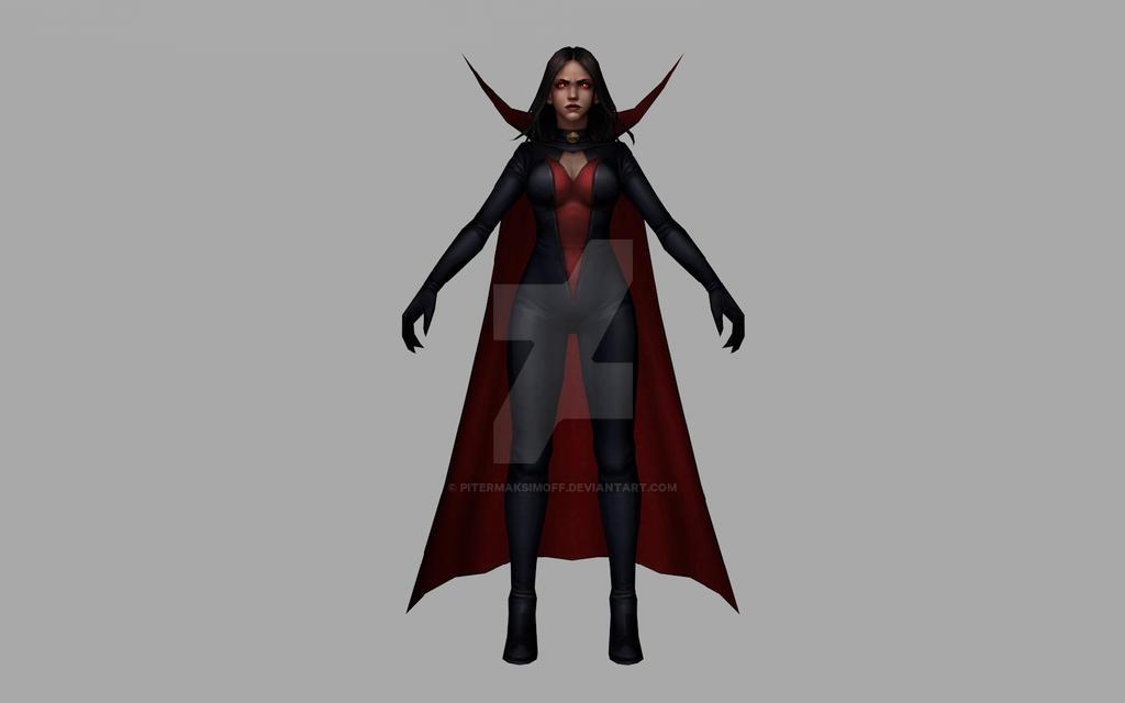 Satana (3D Model MFF) by Pitermaksimoff