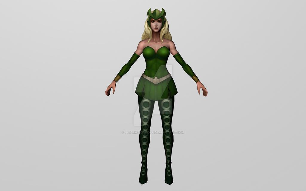 Enchantress (MFF 3D Model) by Pitermaksimoff