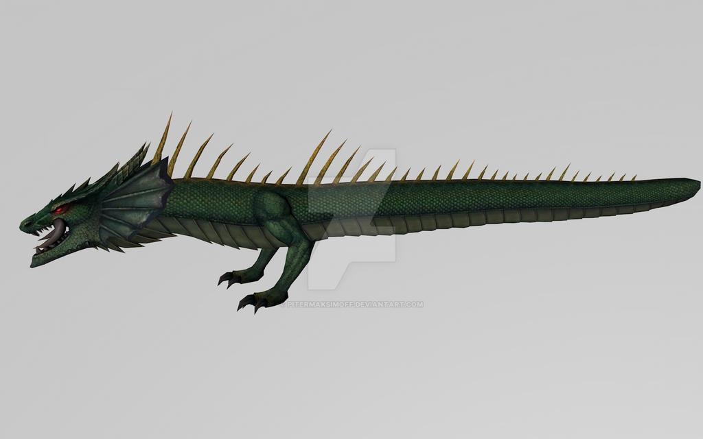 Midgard Serpent (MFF 3D Model) by Pitermaksimoff