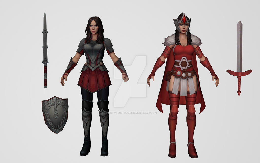 Lady Sif Collection by Pitermaksimoff