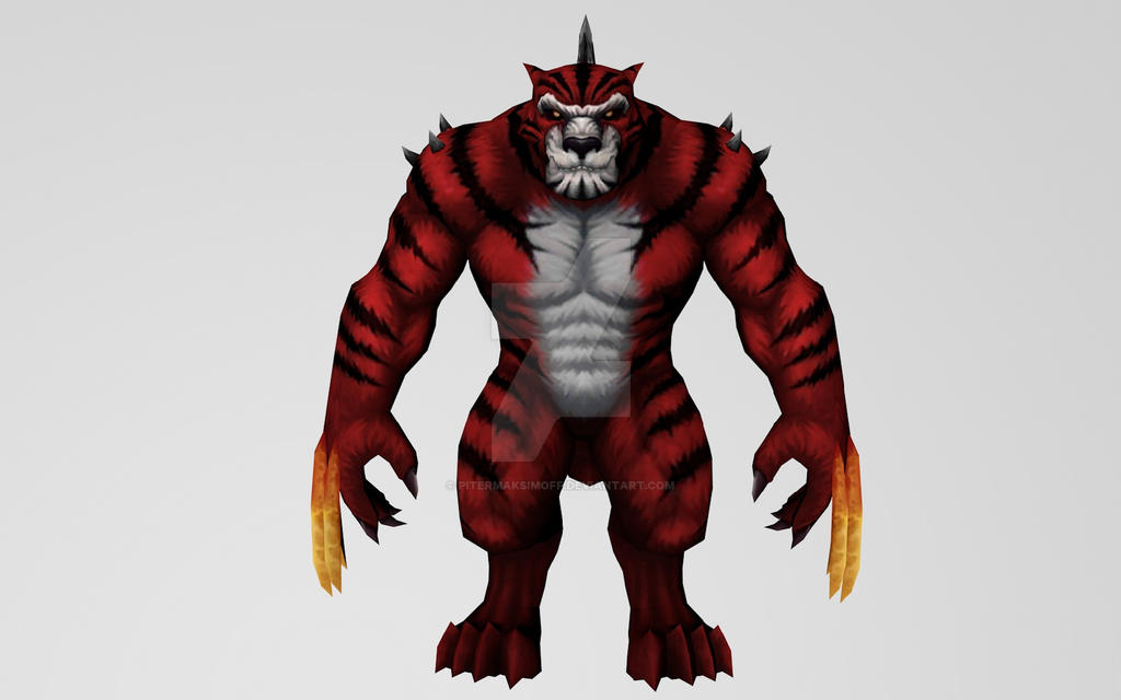 Fireclaw (Monsters Unleashed) by Pitermaksimoff