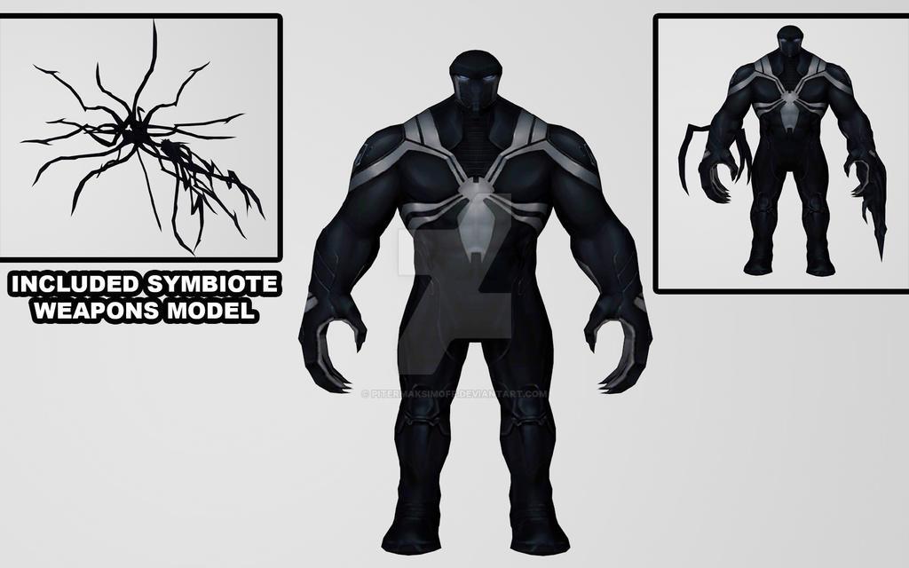 Agent Venom by Pitermaksimoff