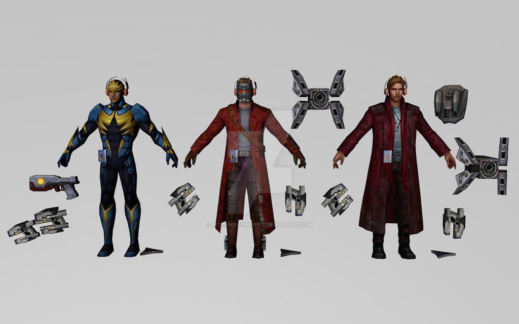 Star Lord Collection by Pitermaksimoff
