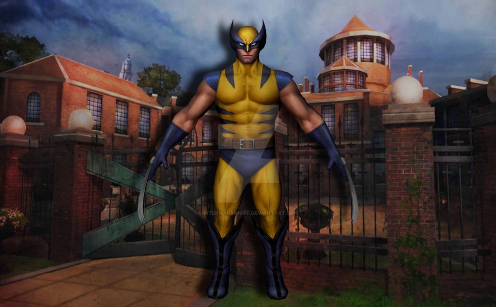 Wolverine by Pitermaksimoff