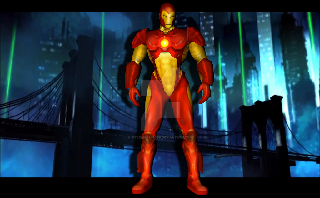 Iron Man (Marvel Nemesis PSP) by Pitermaksimoff