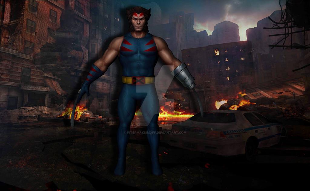 Wolverine (Age of Apocalypse) by Pitermaksimoff