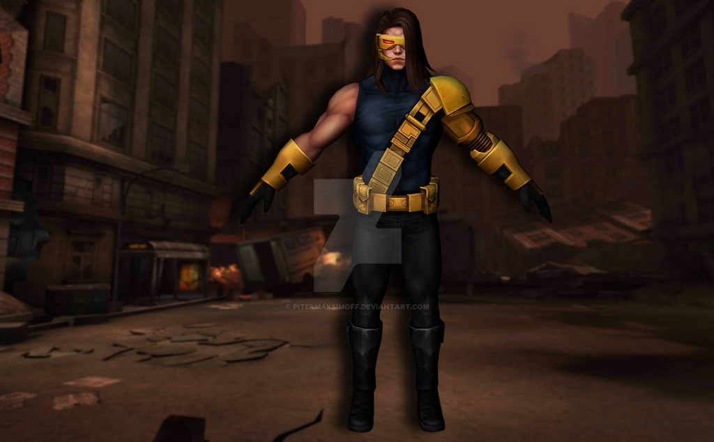 Cyclops (Age of Apocalypse) by Pitermaksimoff