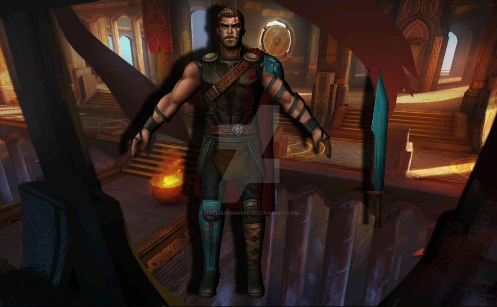 Thor (Thor Ragnarok) by Pitermaksimoff