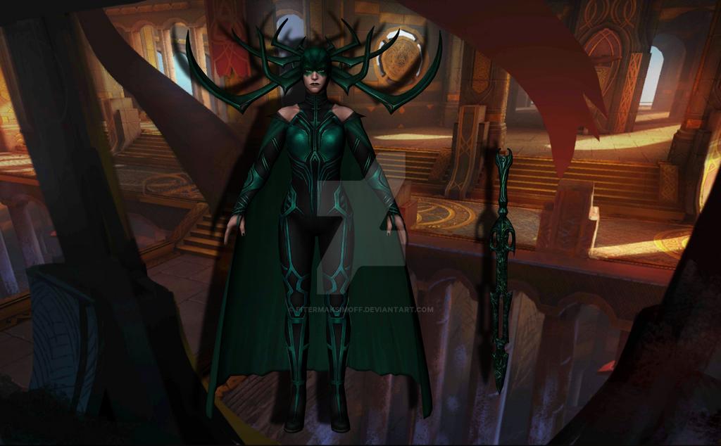 Hela (Thor Ragnarok) by Pitermaksimoff