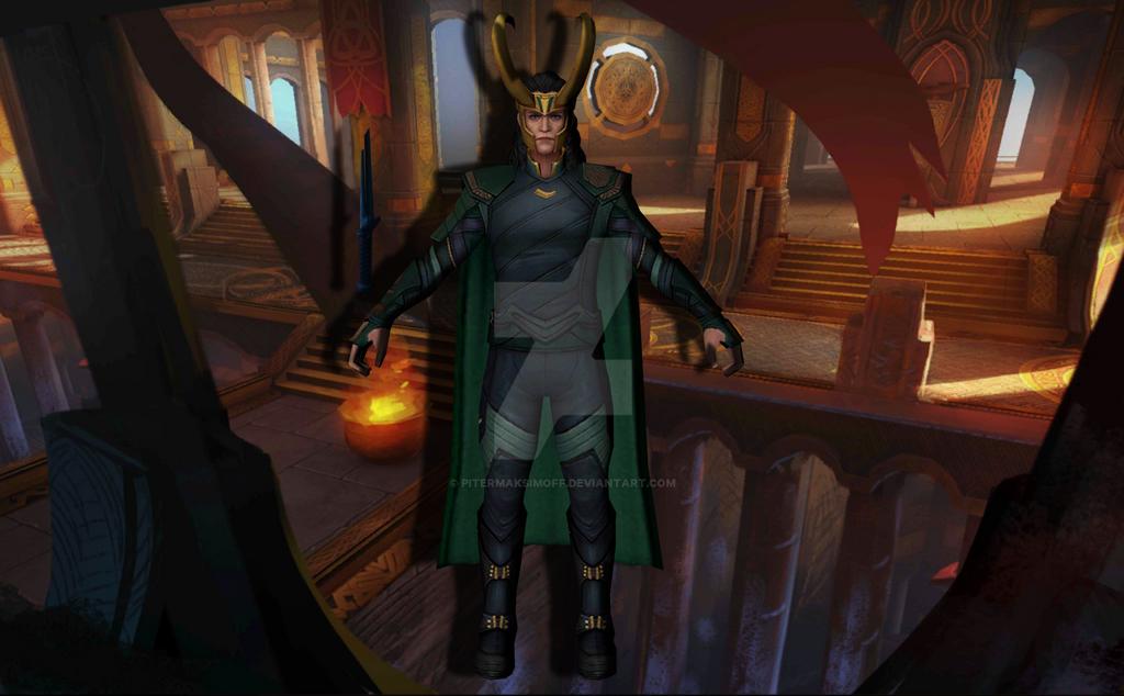 Loki (Thor Ragnarok) by Pitermaksimoff