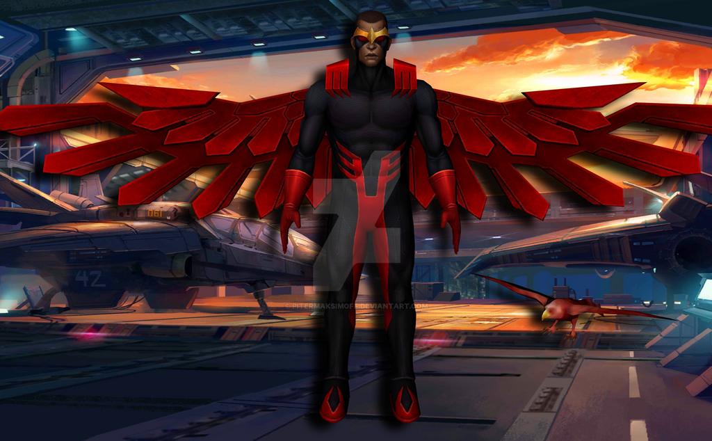 Falcon (Marvel Legacy) by Pitermaksimoff