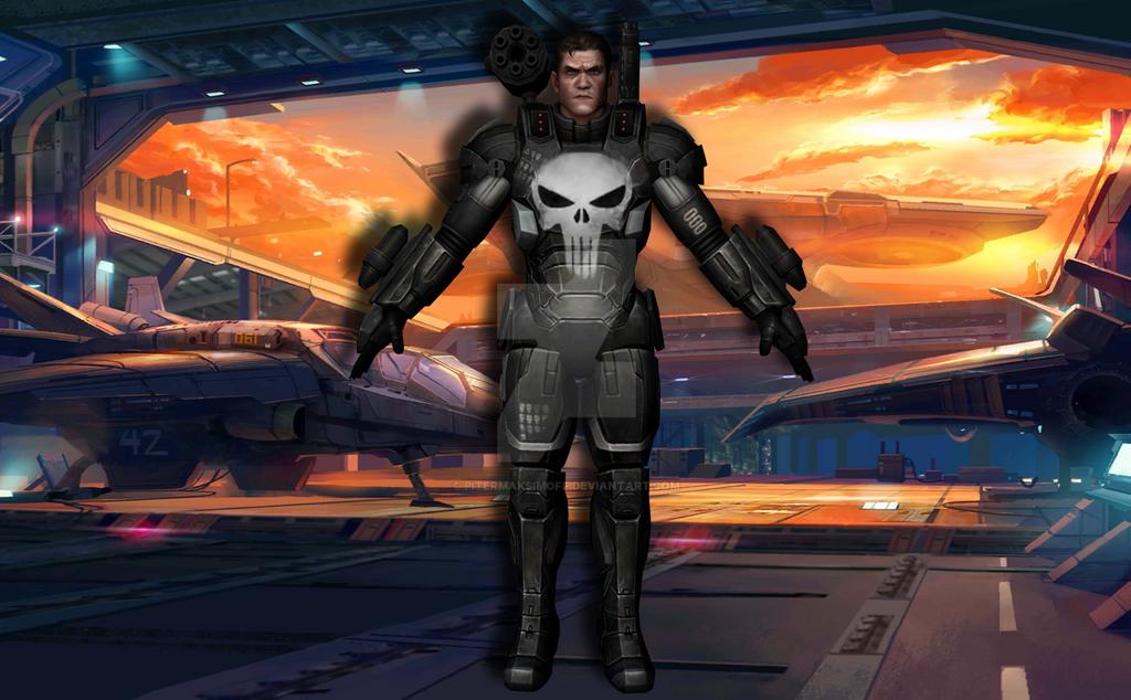 Punisher (Marvel Legacy) by Pitermaksimoff