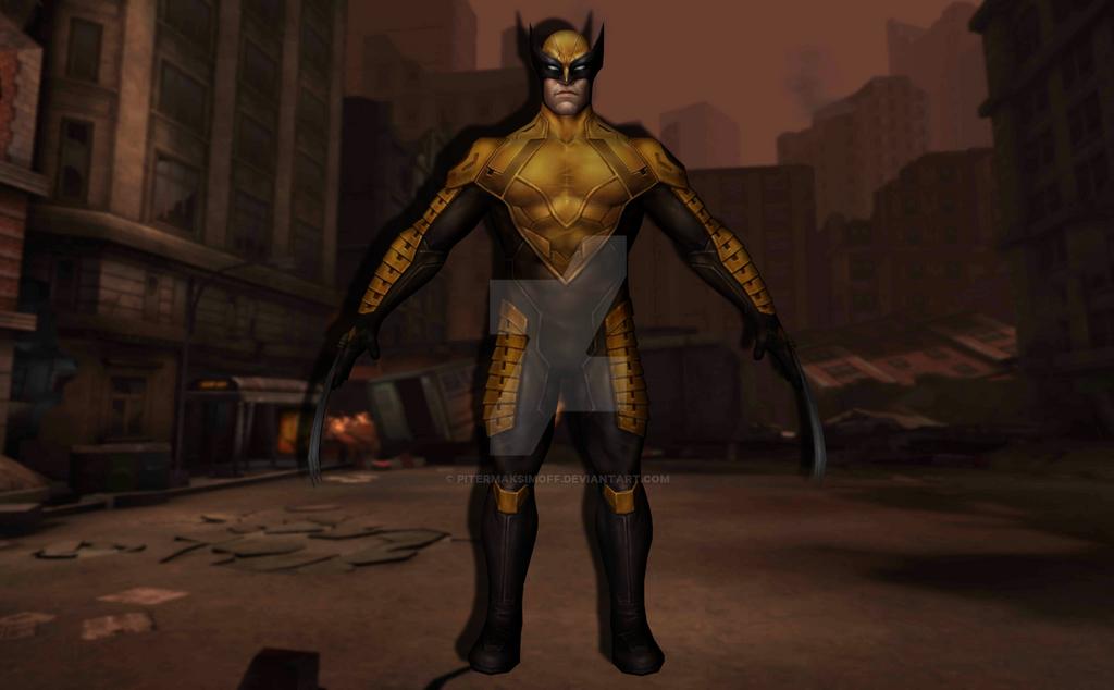 Wolverine (Marvel Now) by Pitermaksimoff