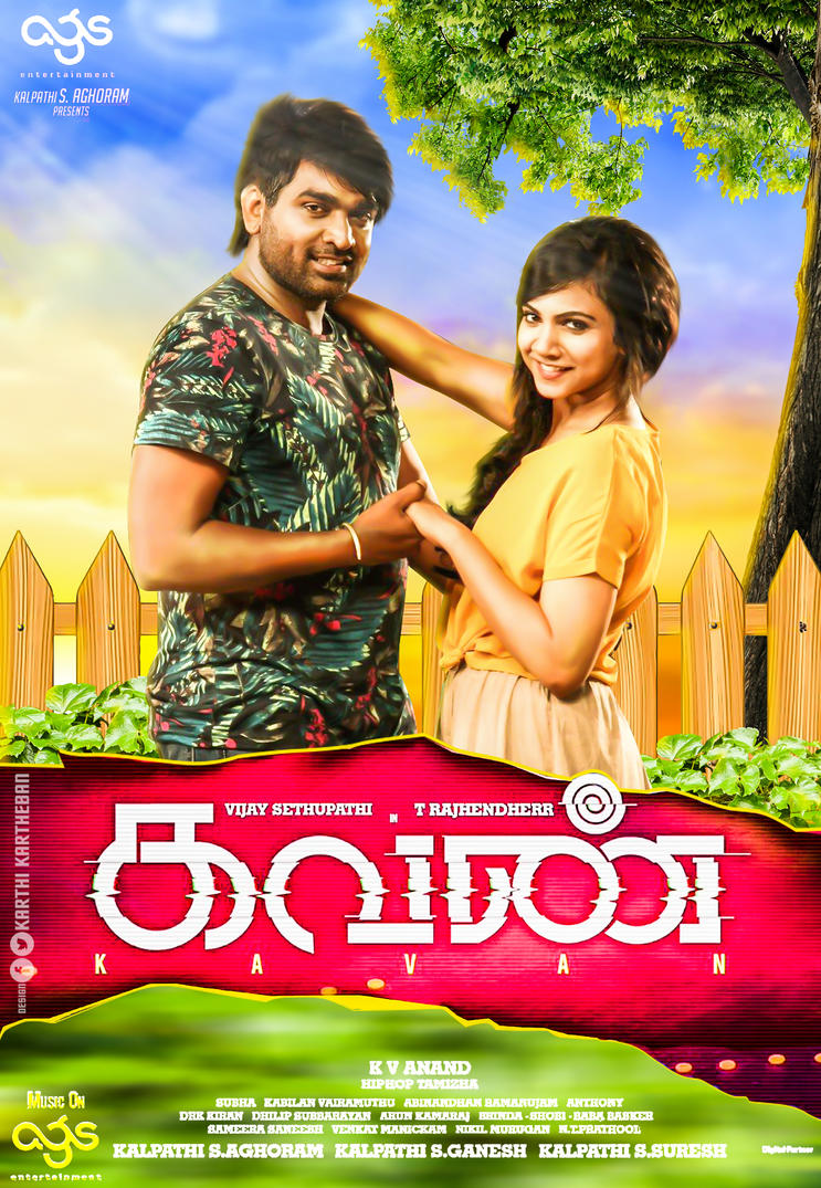 Kavan (2017) Tamil Movie HDRip  720p – 700MB | 1GB Download With Bangla Subtitle
