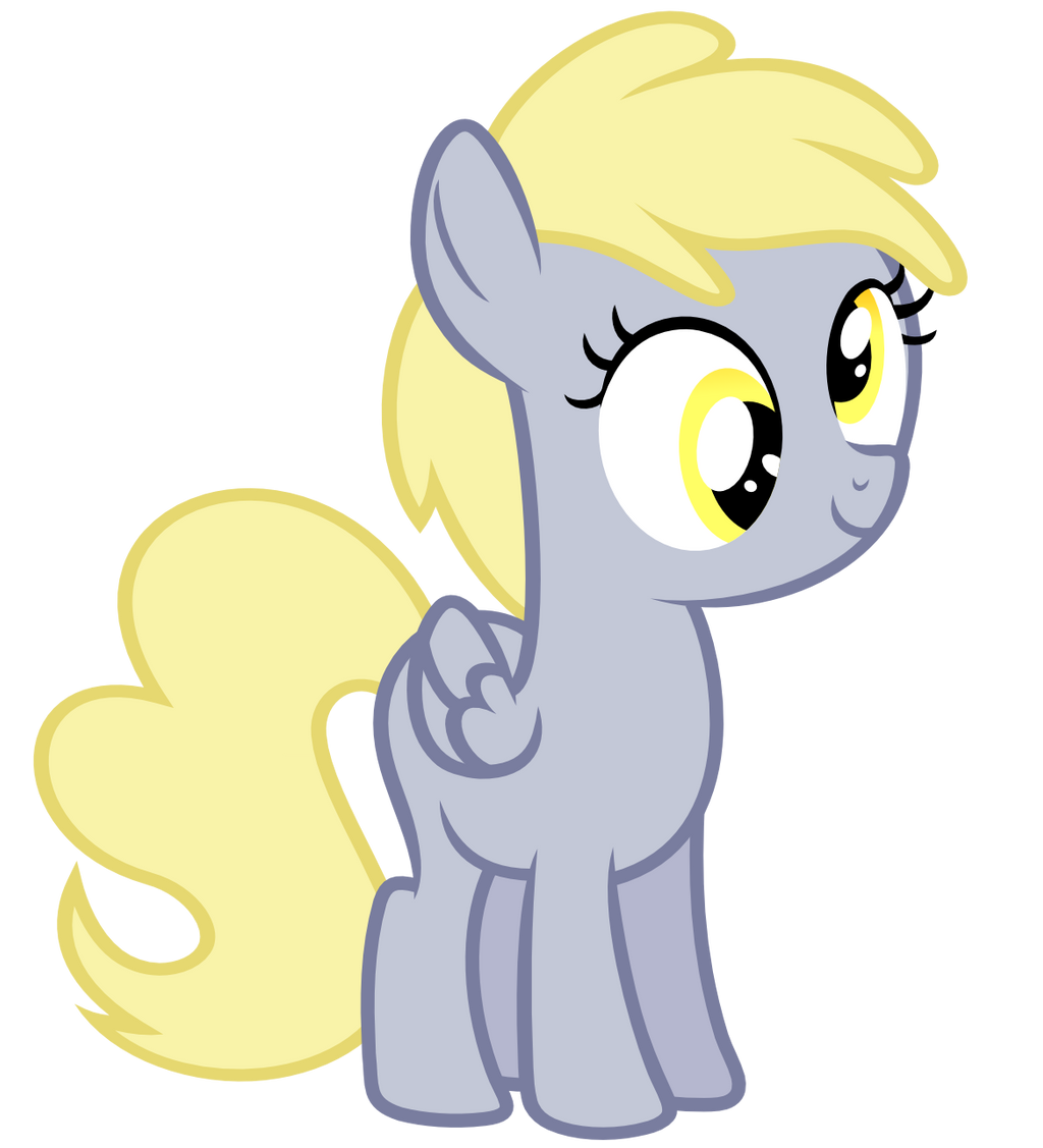 Filly Derpy Hooves Vector