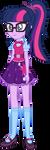 Twilight Sparkle (Sci-Twi)  EG New Oufit by kingdark0001