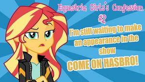 Equestria Girl's Confession #2: Still Waiting! by kingdark0001