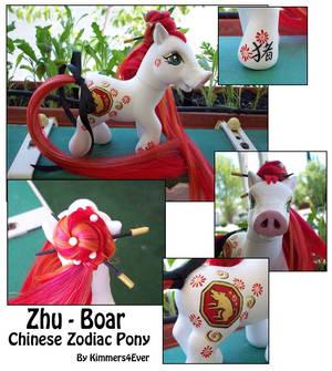 Zhu the Chinese Boar