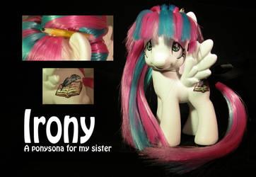 Irony a G4 Ponysona for my sister