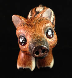 A Baby Boar  for my sister - Front