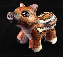 A Baby Boar  for my sister - Side