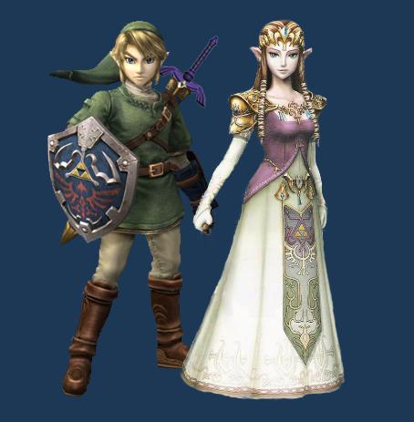 Brawl--Link-Zelda Manipish by ambivalentlight
