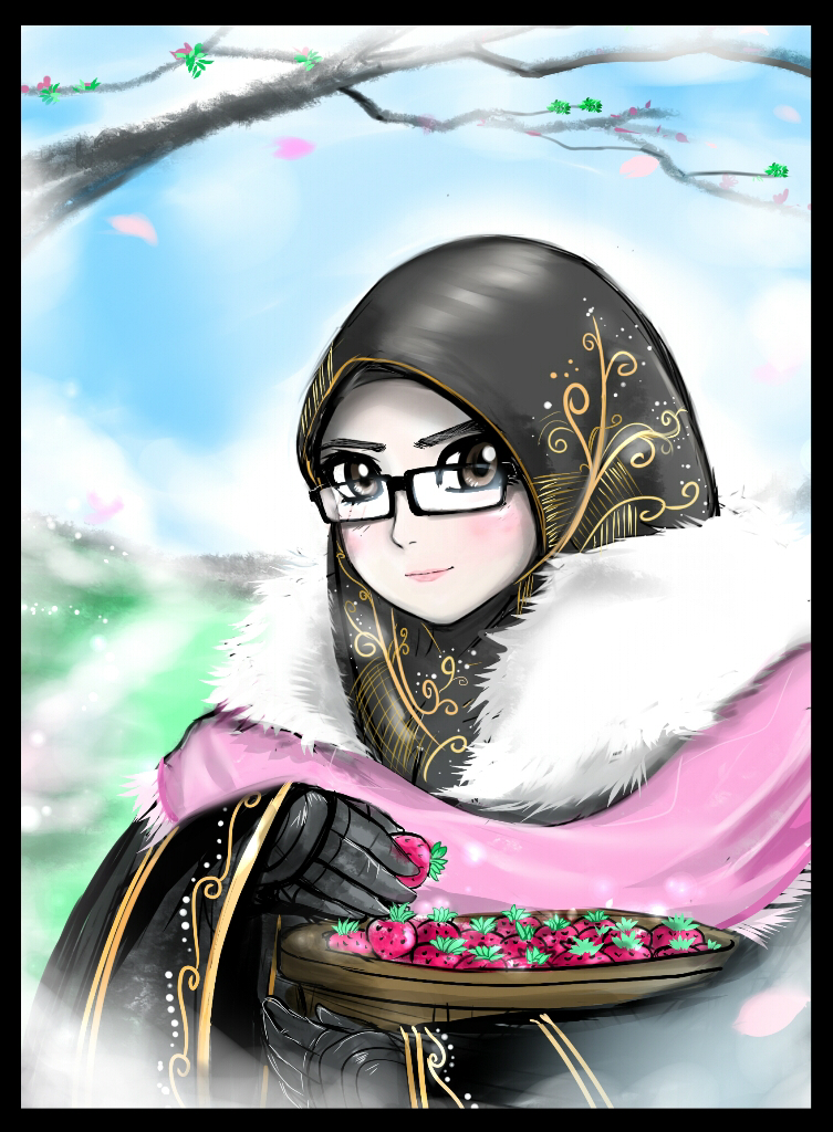 Milady Azalia Hinamori by Alaudeen313