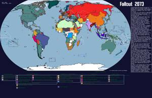 Fallout Pre-War Map (2073) by TrueBananakonda