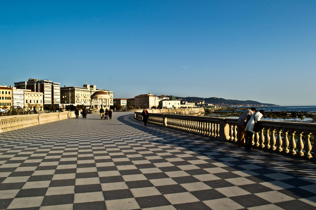 Livorno - Terrazza Mascagni by thio27 on DeviantArt