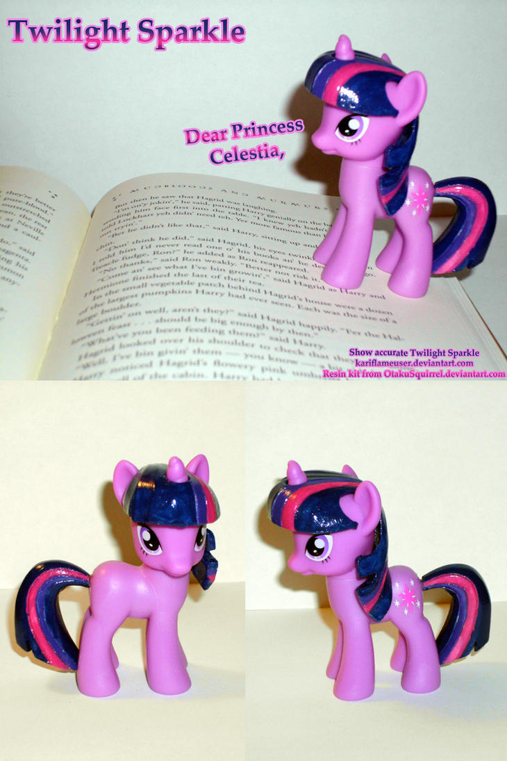 Show accutate Twilight Sparkle by Kari-Morano