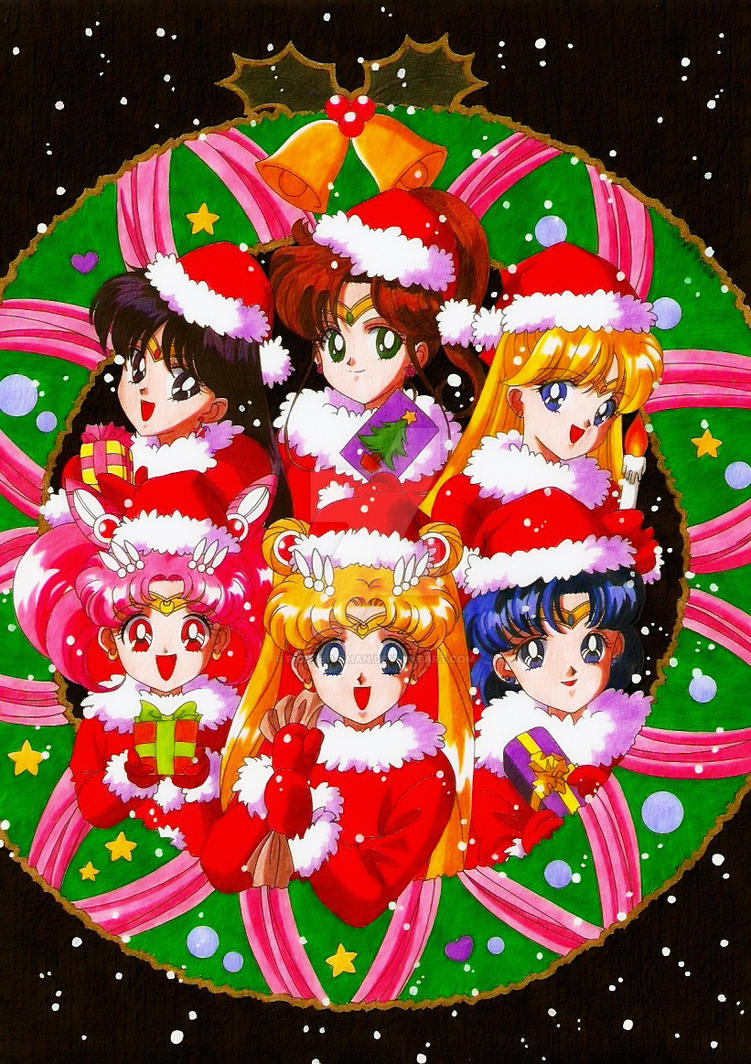 Sailor Moon X Mas By Fighter Chan On Deviantart