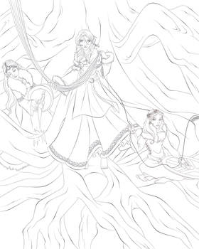 Lineart - The Norns (collab)